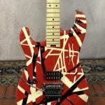 EVH striped series Red/Black Left Handed Lefty