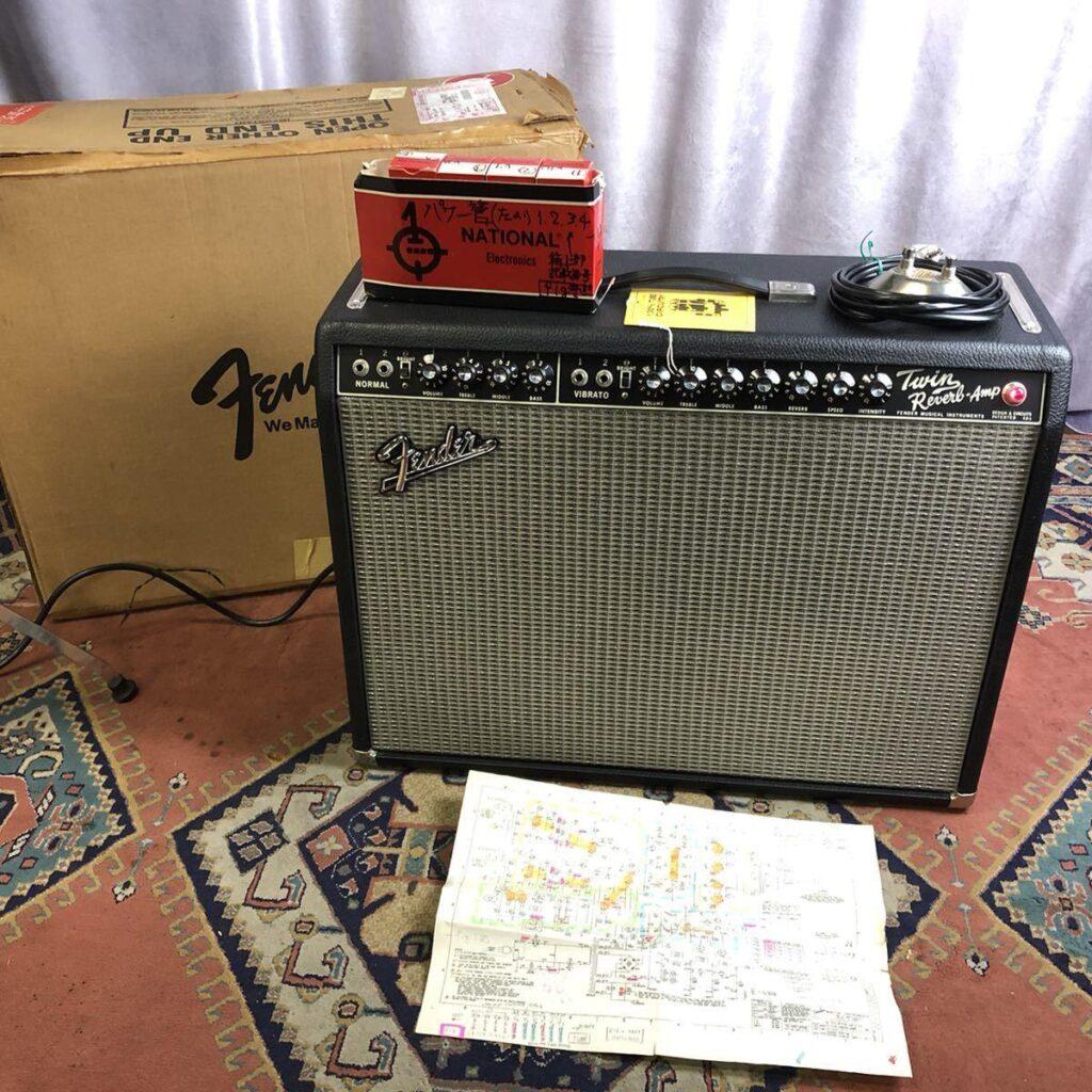 Fender ギターアンプ '65 reissue TWIN REVERB フェンダー ツインリバーブ
